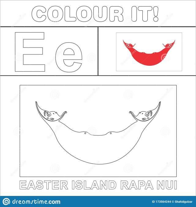 Colour it Kids Colouring Page Country Starting from English Letter