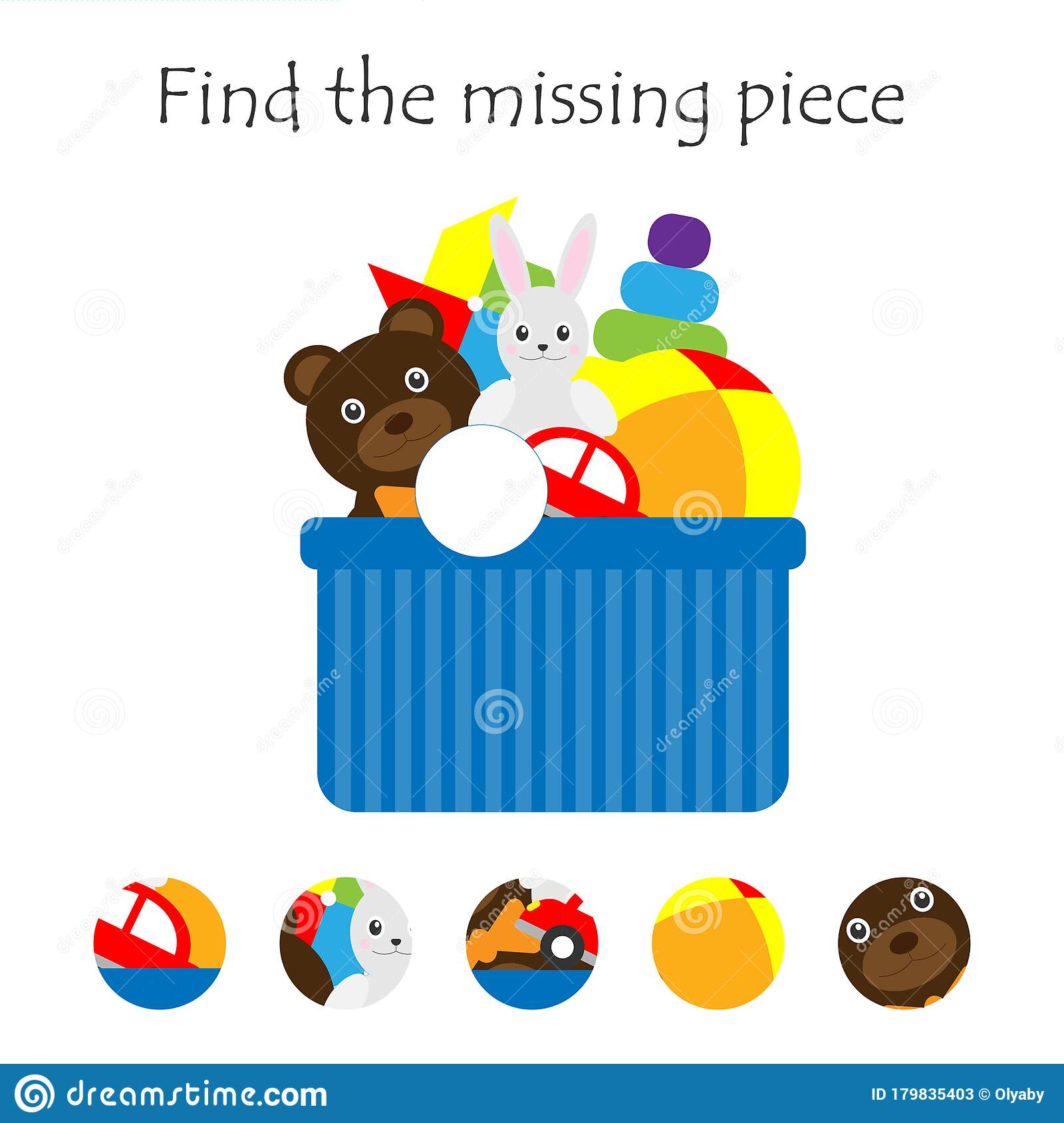 Complete The Puzzle And Find The Missing Piece Fun