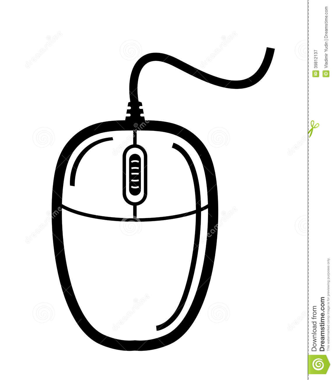 Computer Mouse Stock Vector