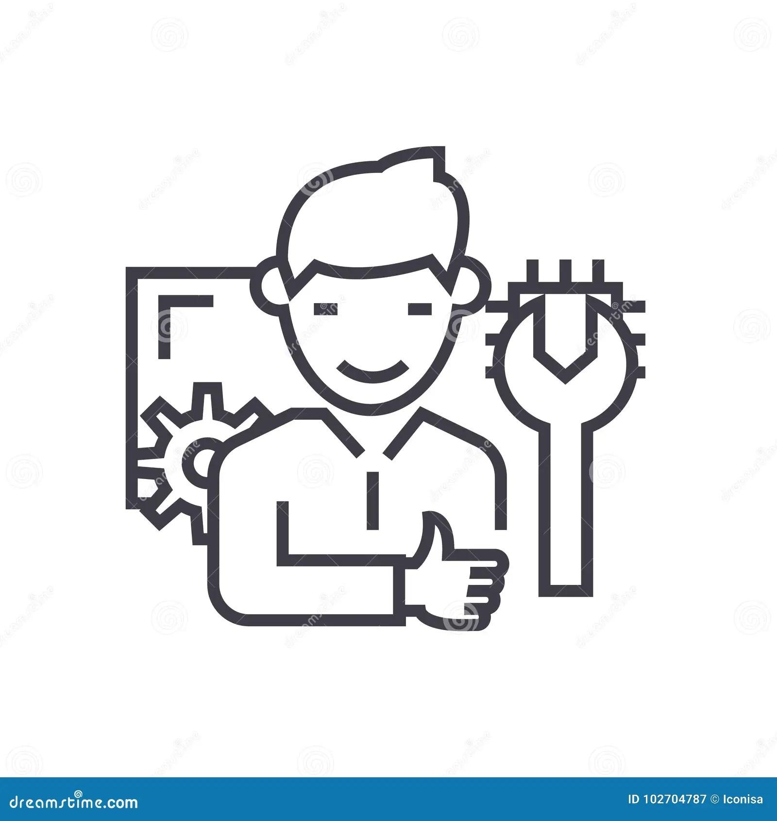 Technician Stock Illustrations 16 722 Technician Stock