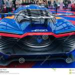 Concept Car Renault Alpine A110 50 Editorial Stock Image Image Of Alloy Festival 28971594