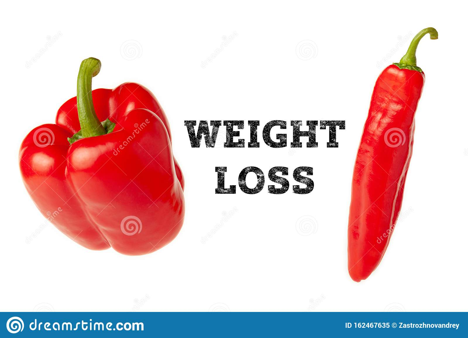 Concept Of Obesity And Weight Loss Thick Fat And Thin