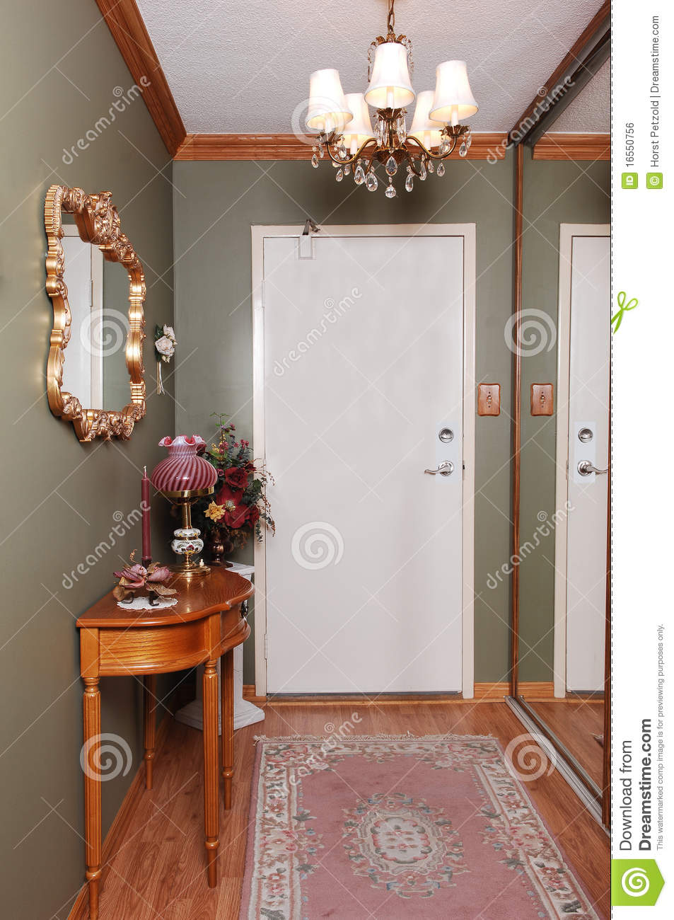 Condo Entrance Royalty Free Stock Image Image 16550756