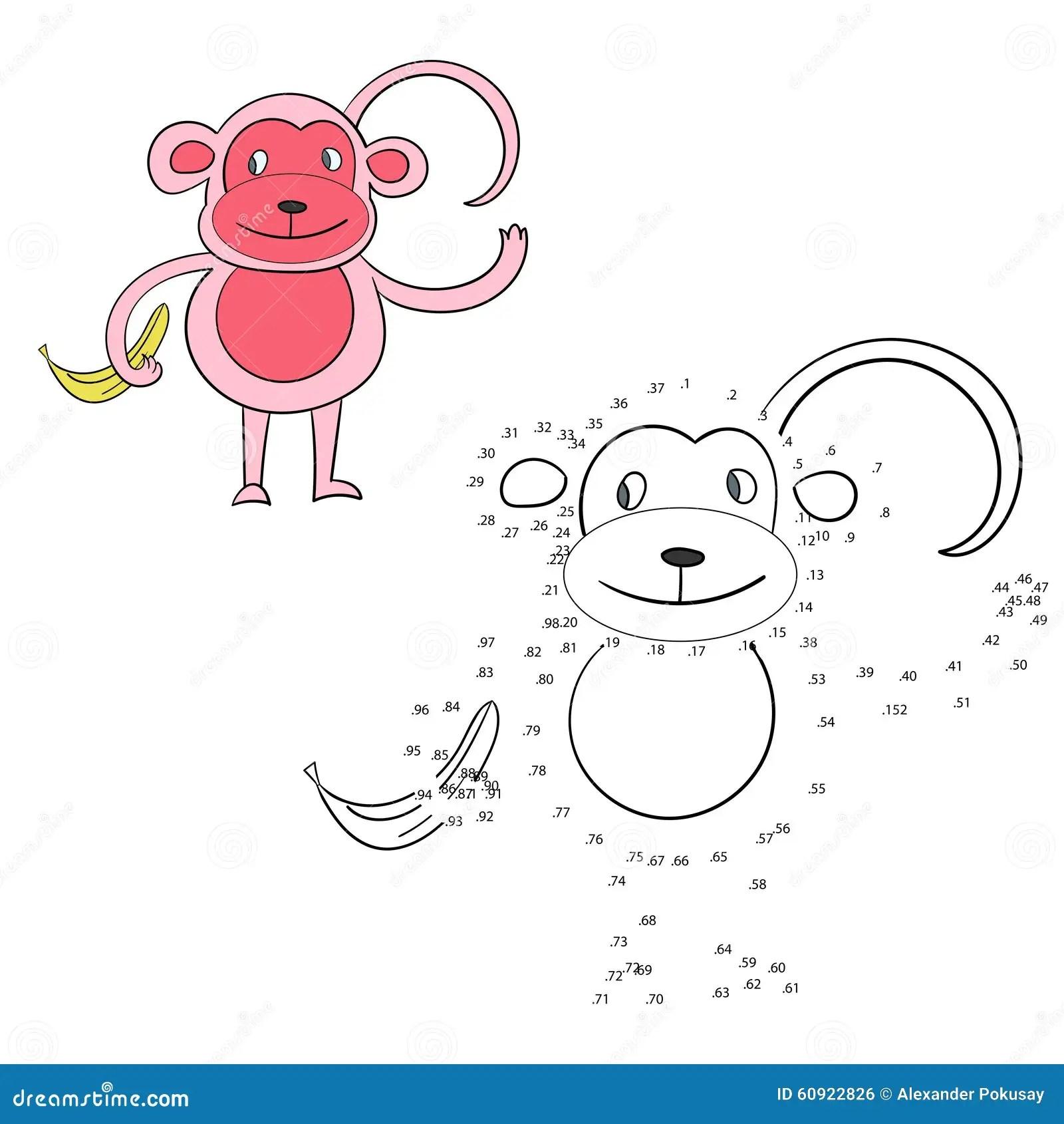 Monkey Doodle Vector