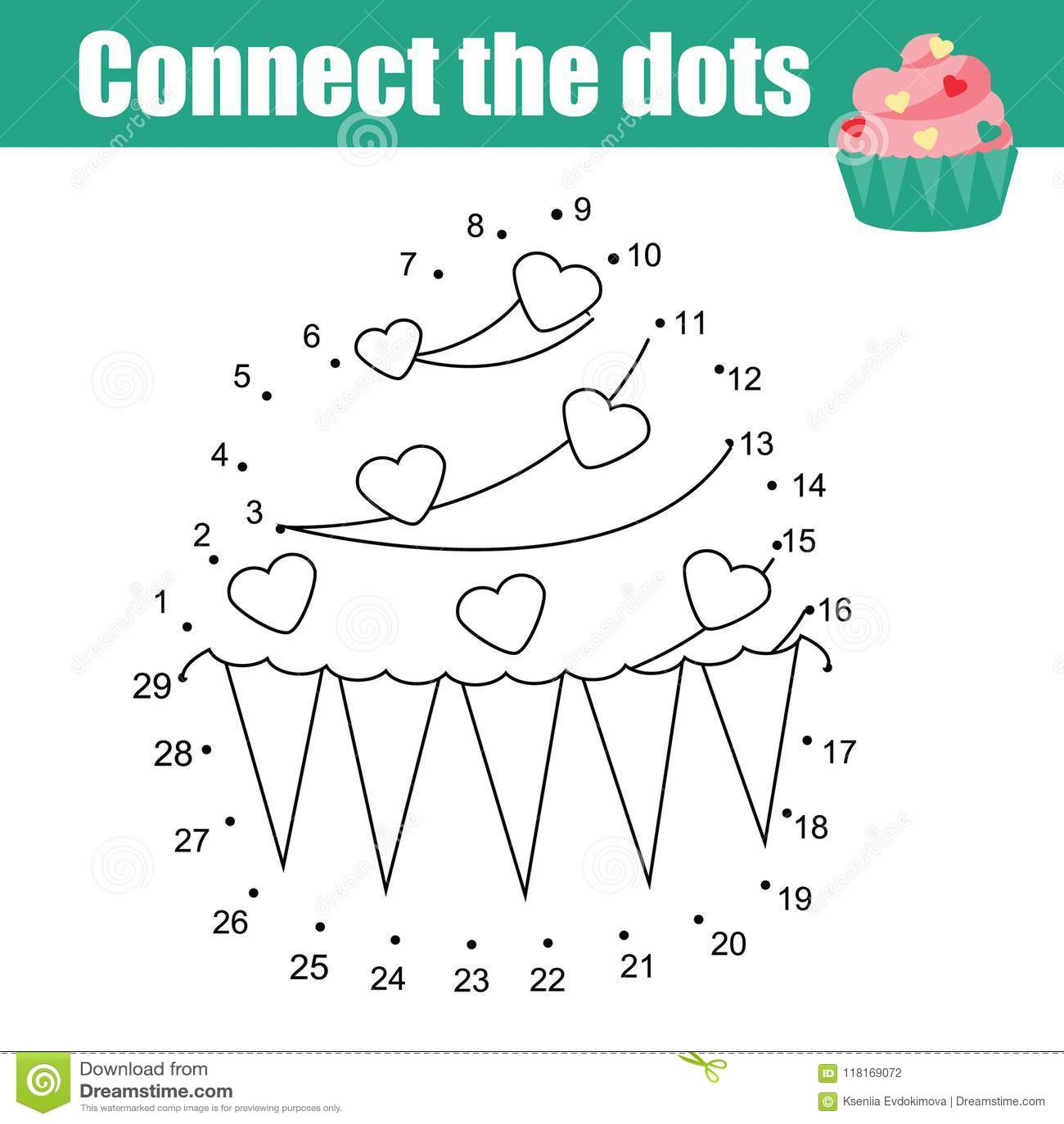 Connecting Numbers Worksheet