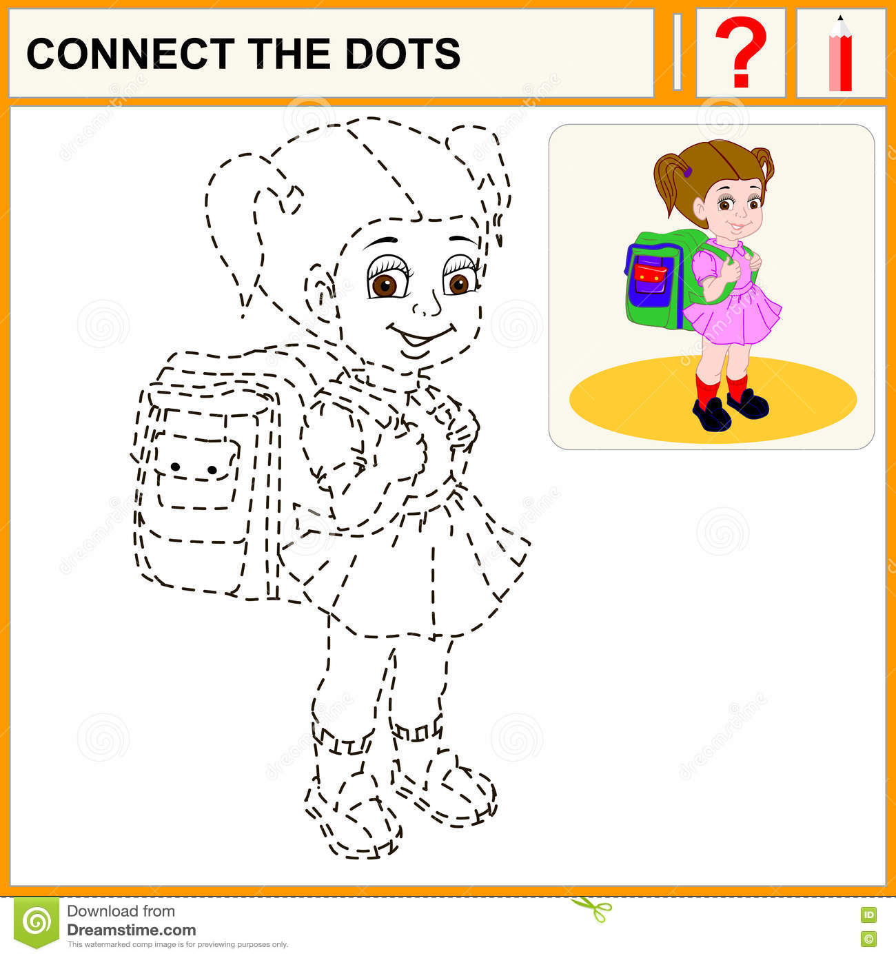 23 Connect The Dots Stock Vector Illustration Of