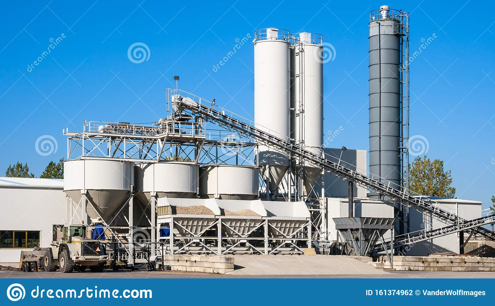 Construction Industry Concrete Plant And Equipment Stock