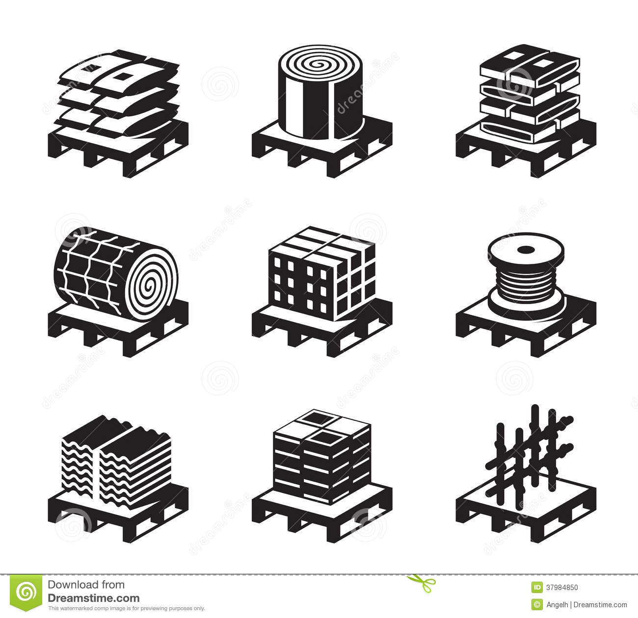 Construction Materials Royalty Free Stock Photo