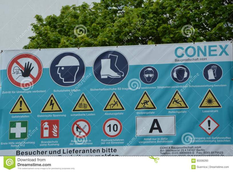 Road Safety Signs And Symbols Path Decorations Pictures Full