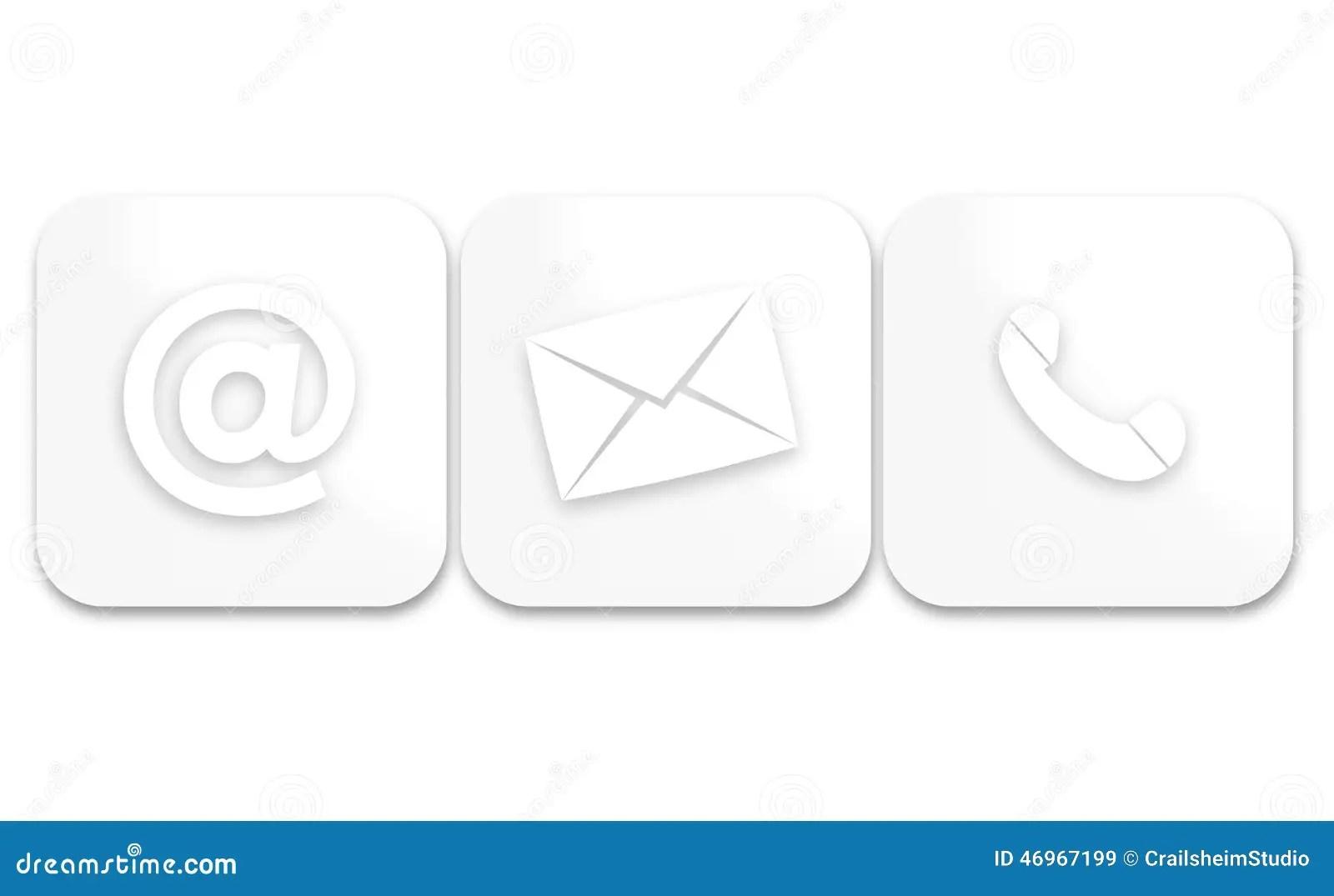 Contact Us Stock Illustration Illustration Of Customer