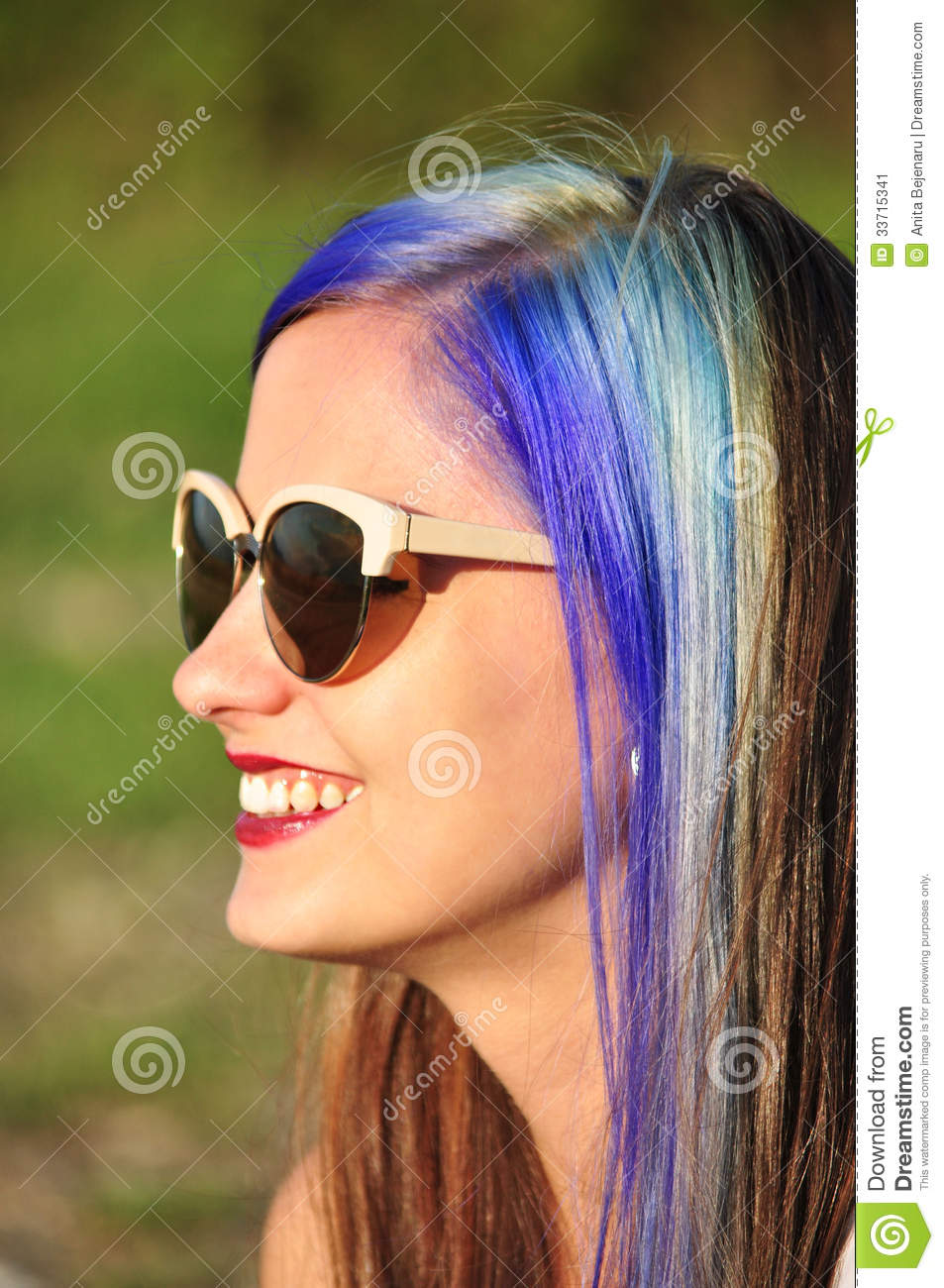 Cool Hipster Girl Stock Image Image Of Outdoor Female