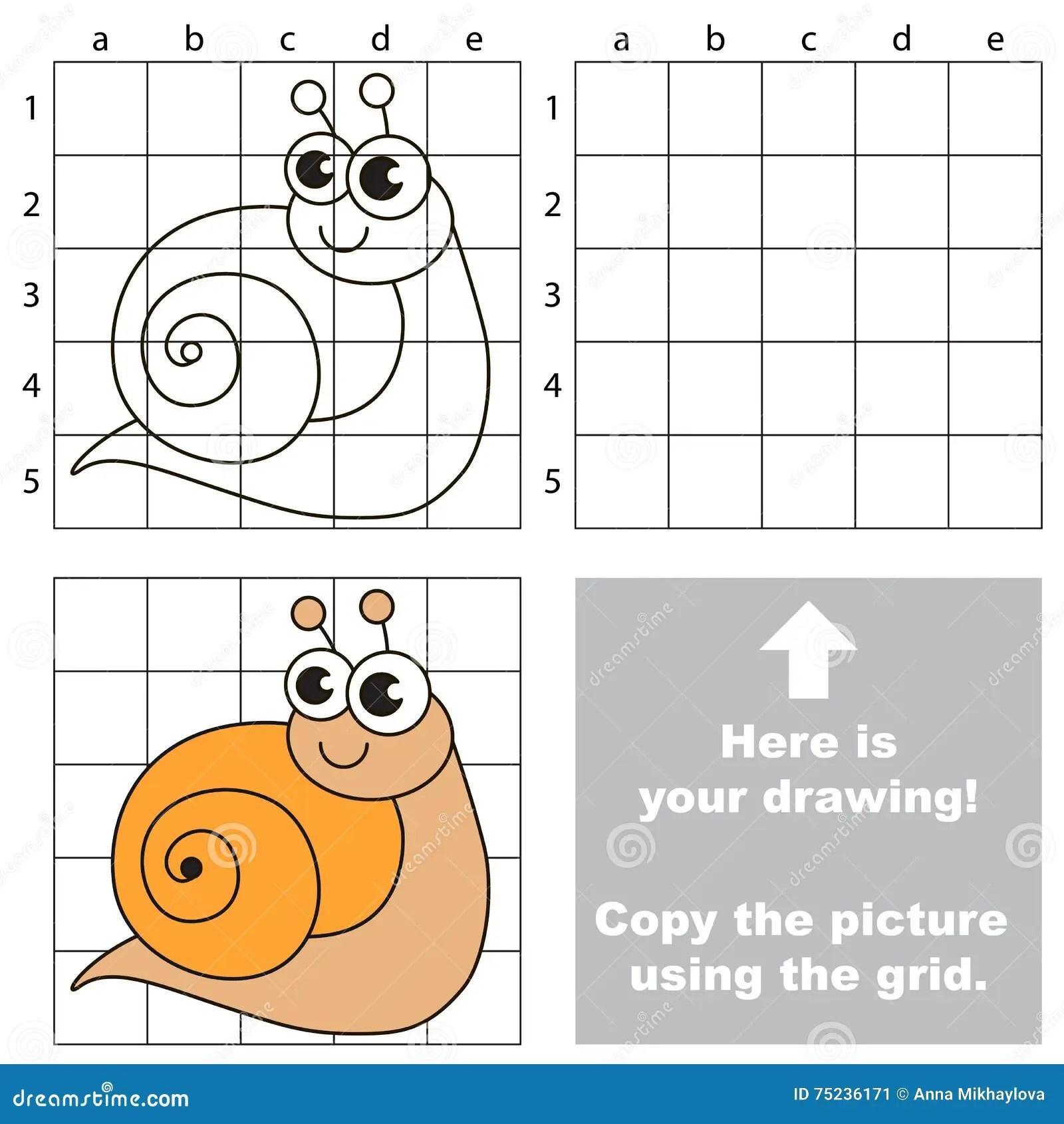 Easy Grid Drawing Worksheet