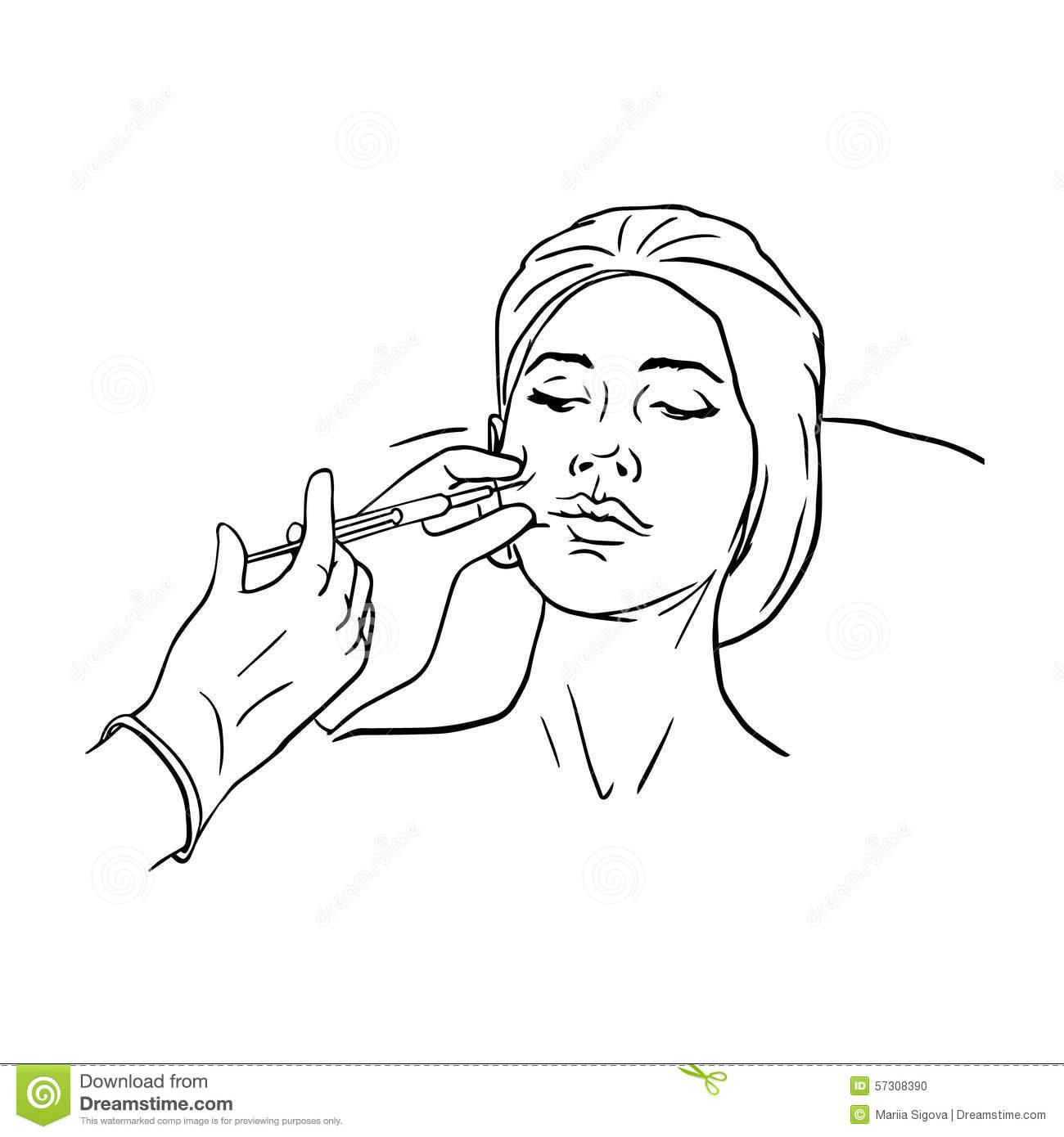Botox Cartoons Illustrations Amp Vector Stock Images