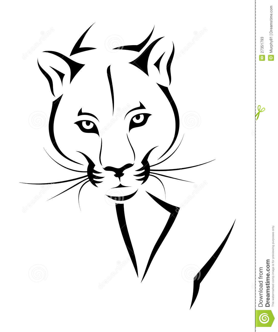 Cougar Cartoons Illustrations Amp Vector Stock Images