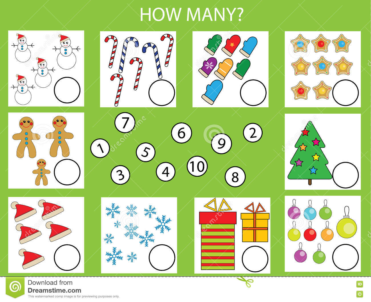 Learning Numbers 15 Worksheet