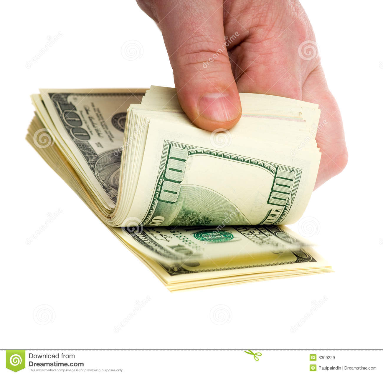 Counting Money Stock Image Image Of Hands People