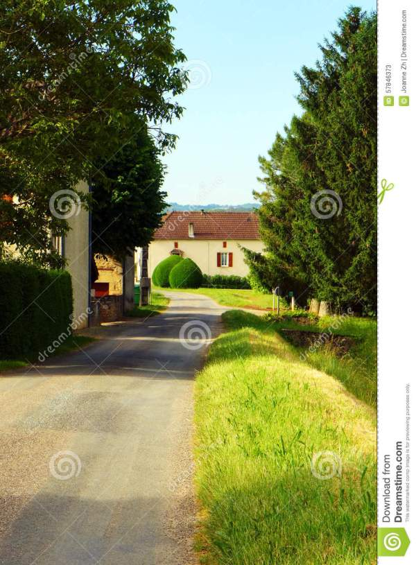 Country House Rural South Of France Stock Photo Image