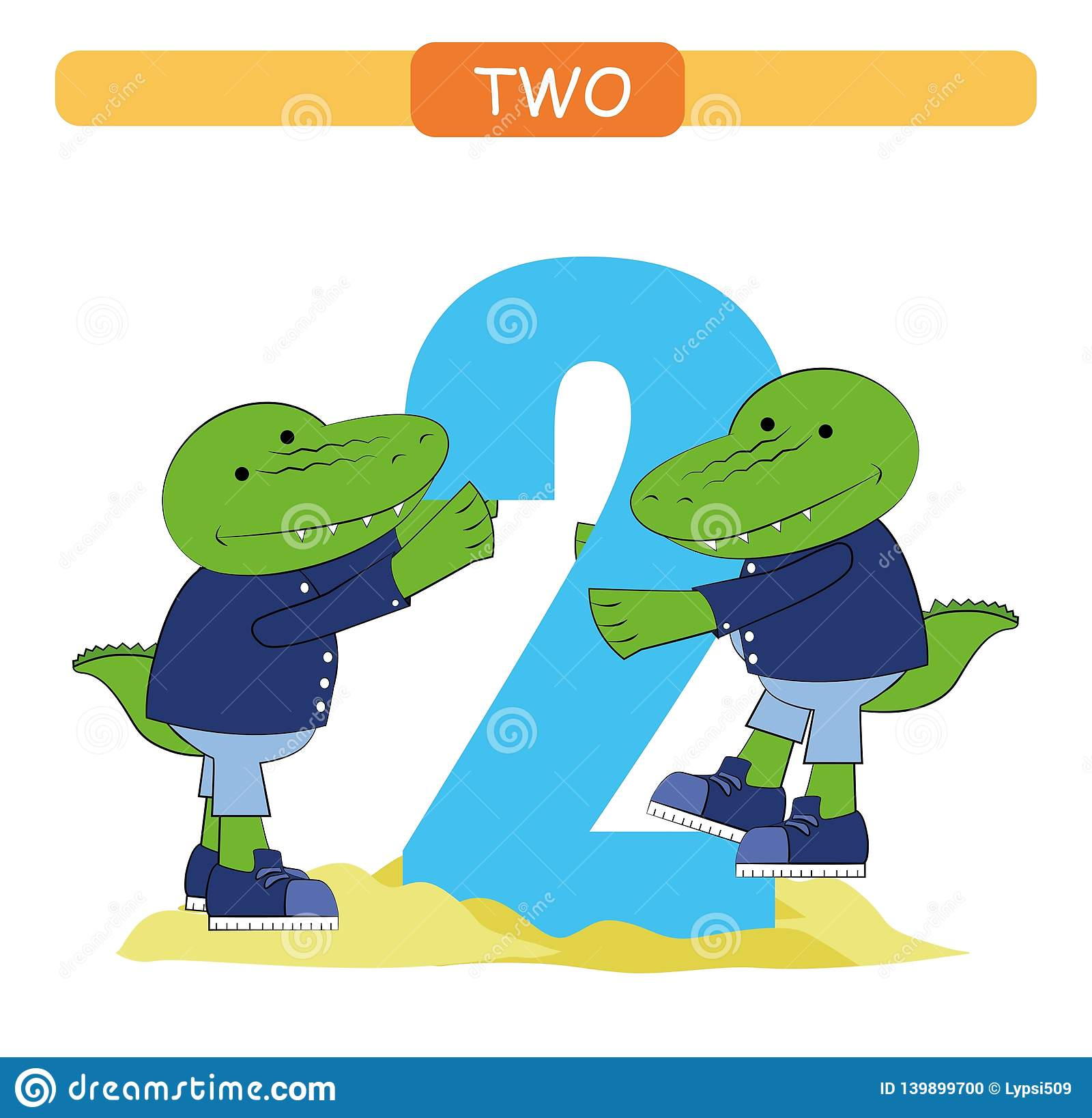 Two Collection Number For Kindergarten And Preschool