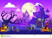 halloween background story