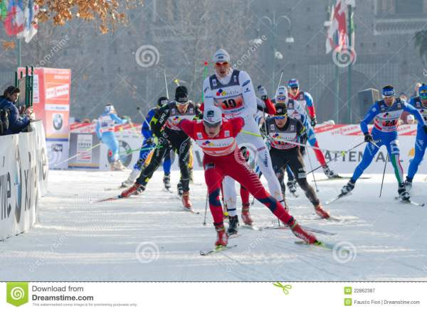 Nordic ski race editorial photography. Image of race ...