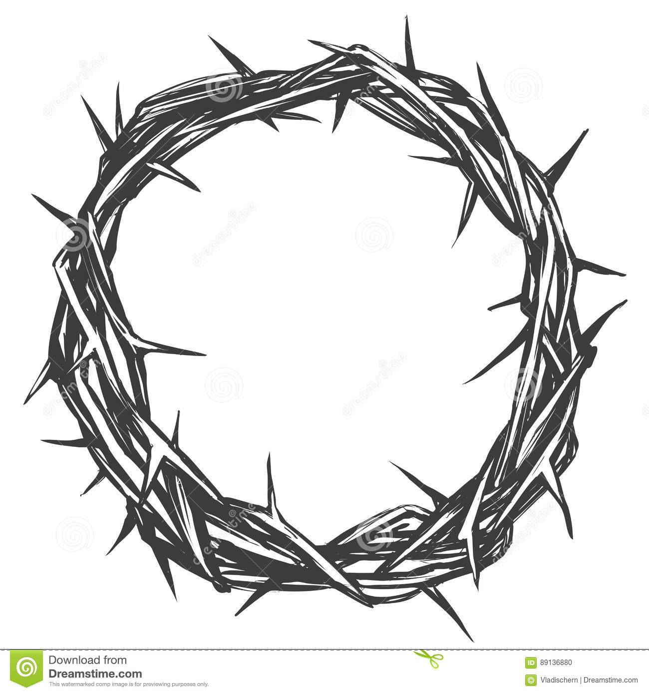 Crown Of Thorns Easter Religious Symbol Of Christianity