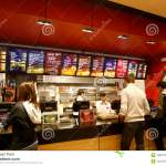 Customers Buying Fast Food Editorial Photography Image Of Mall 18902727