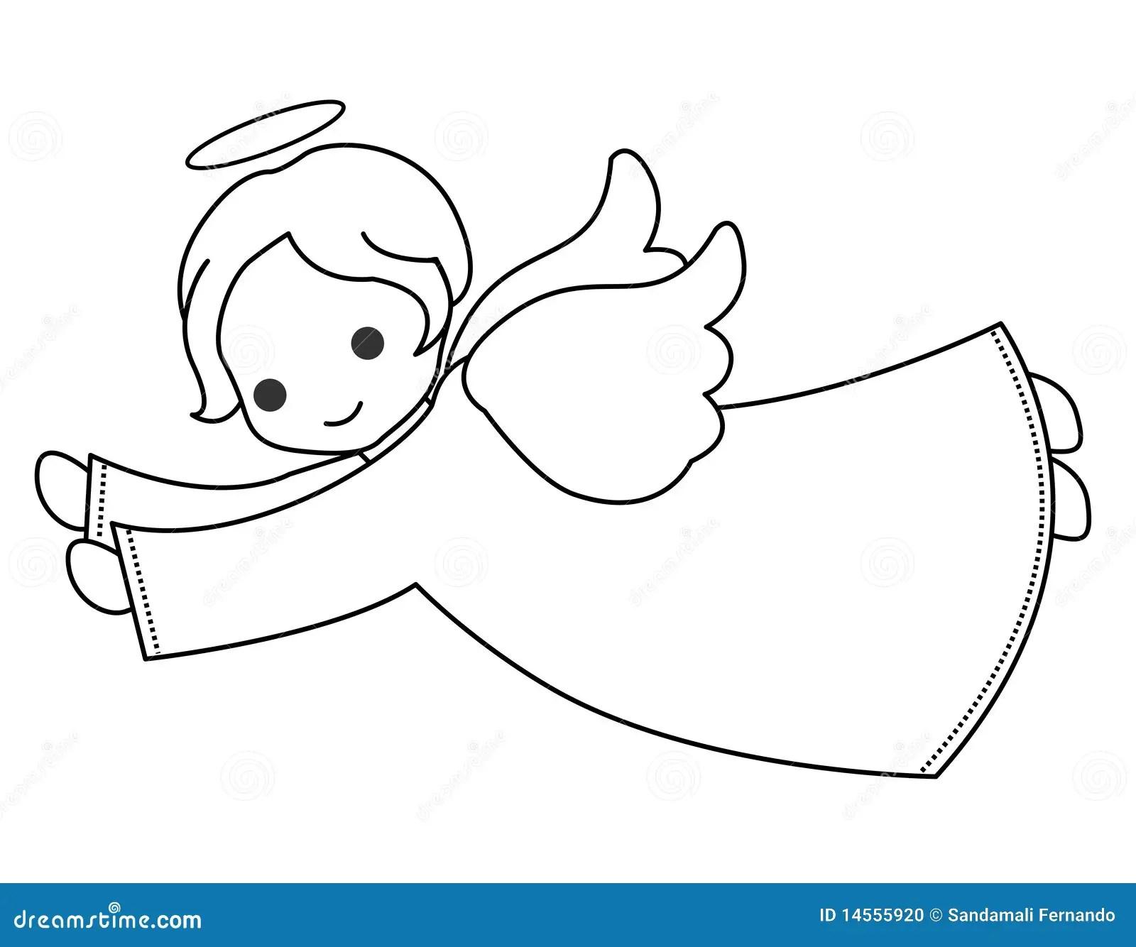 Cute Angel Stock Vector Illustration Of Christening
