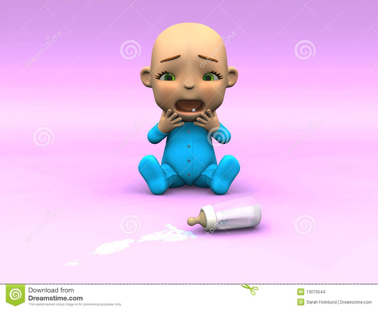 Baby Clipart Crying