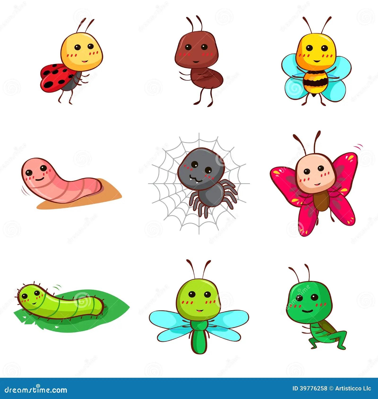 Worksheet For Preschoolers Bugs Bees Butterflies