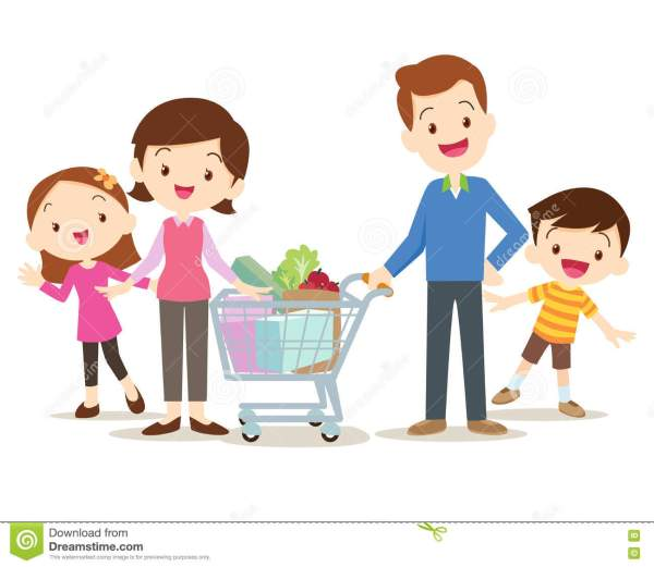 Mom Cartoon Mother Shopping Pictures to Pin on Pinterest ...