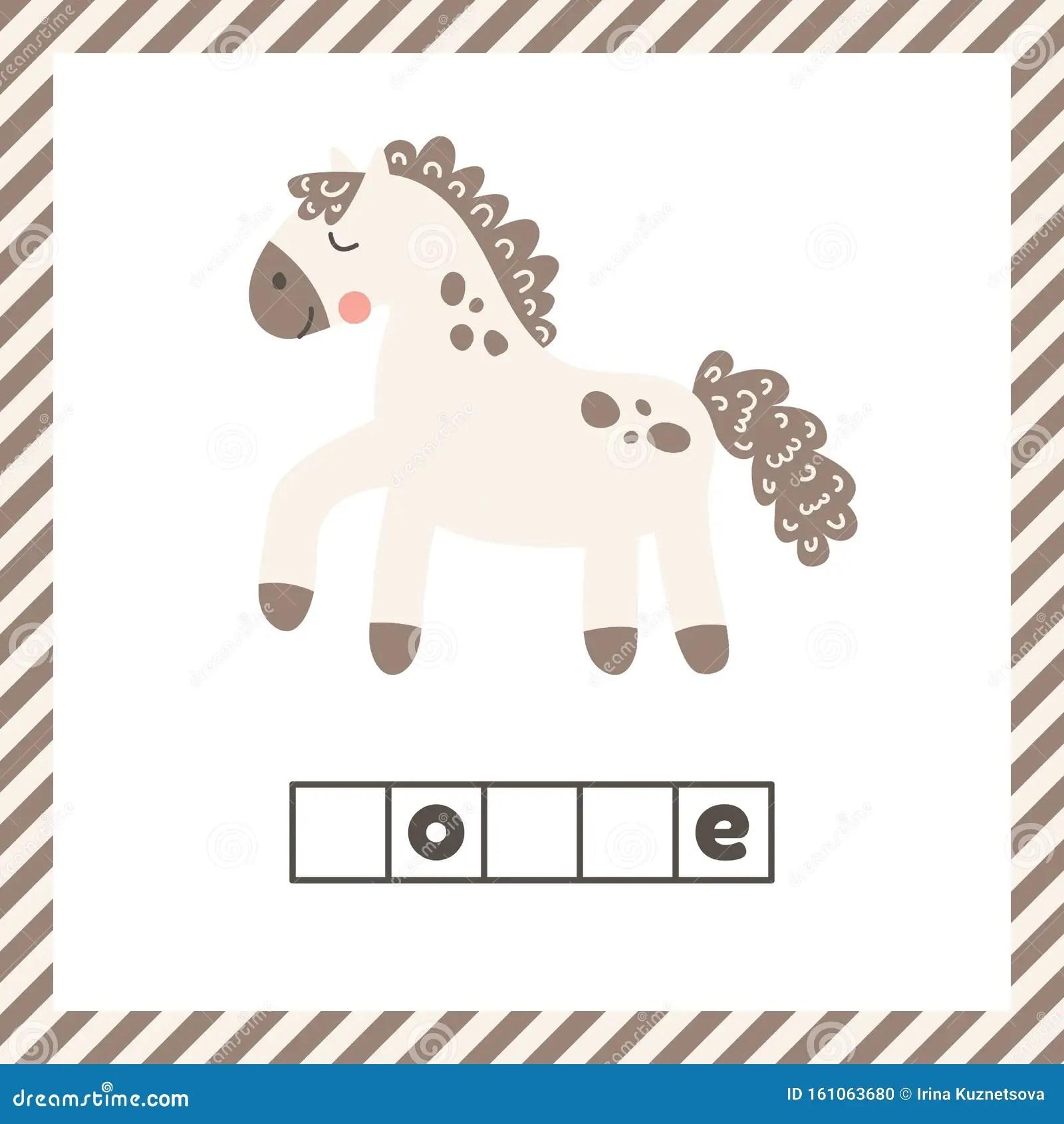 Cute Funny Farm Animal For Kids Nursery Print Cartoon