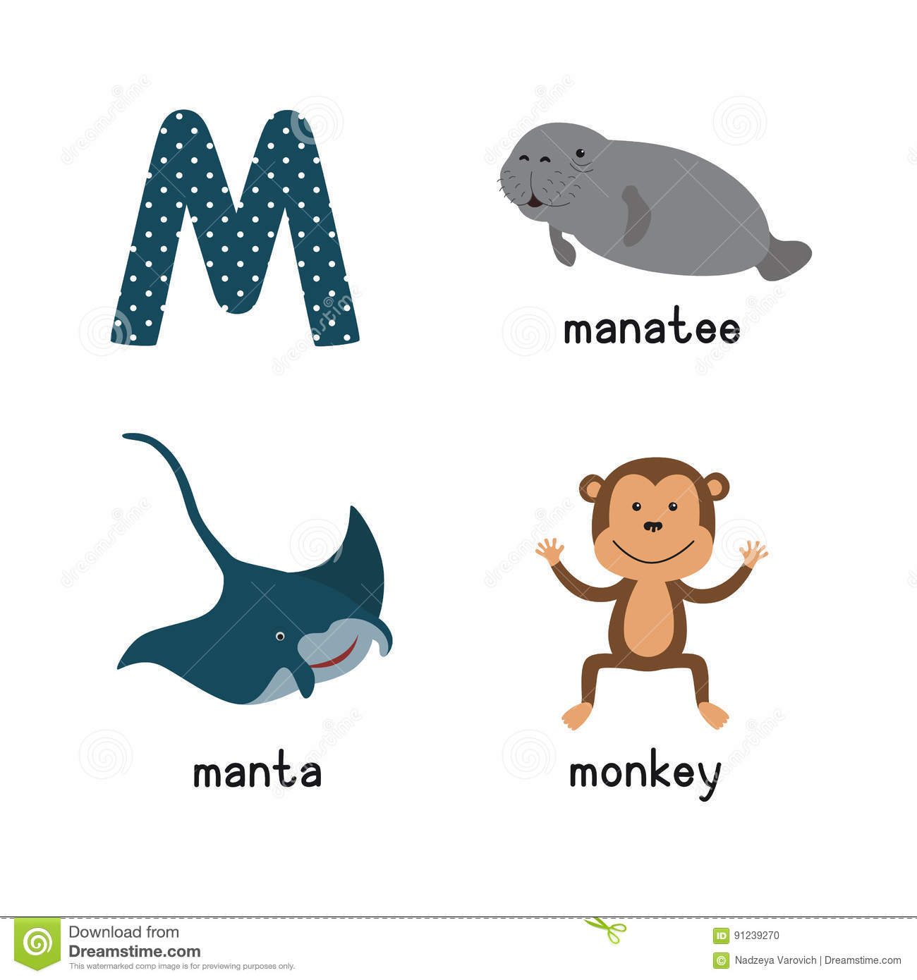 Manatee Cartoons Illustrations Amp Vector Stock Images
