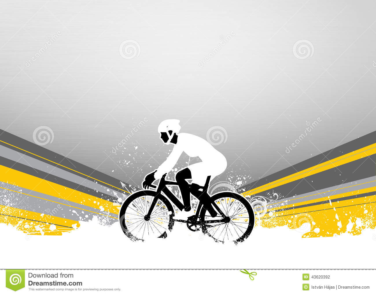 Cycling Background Stock Photo Image 43620392