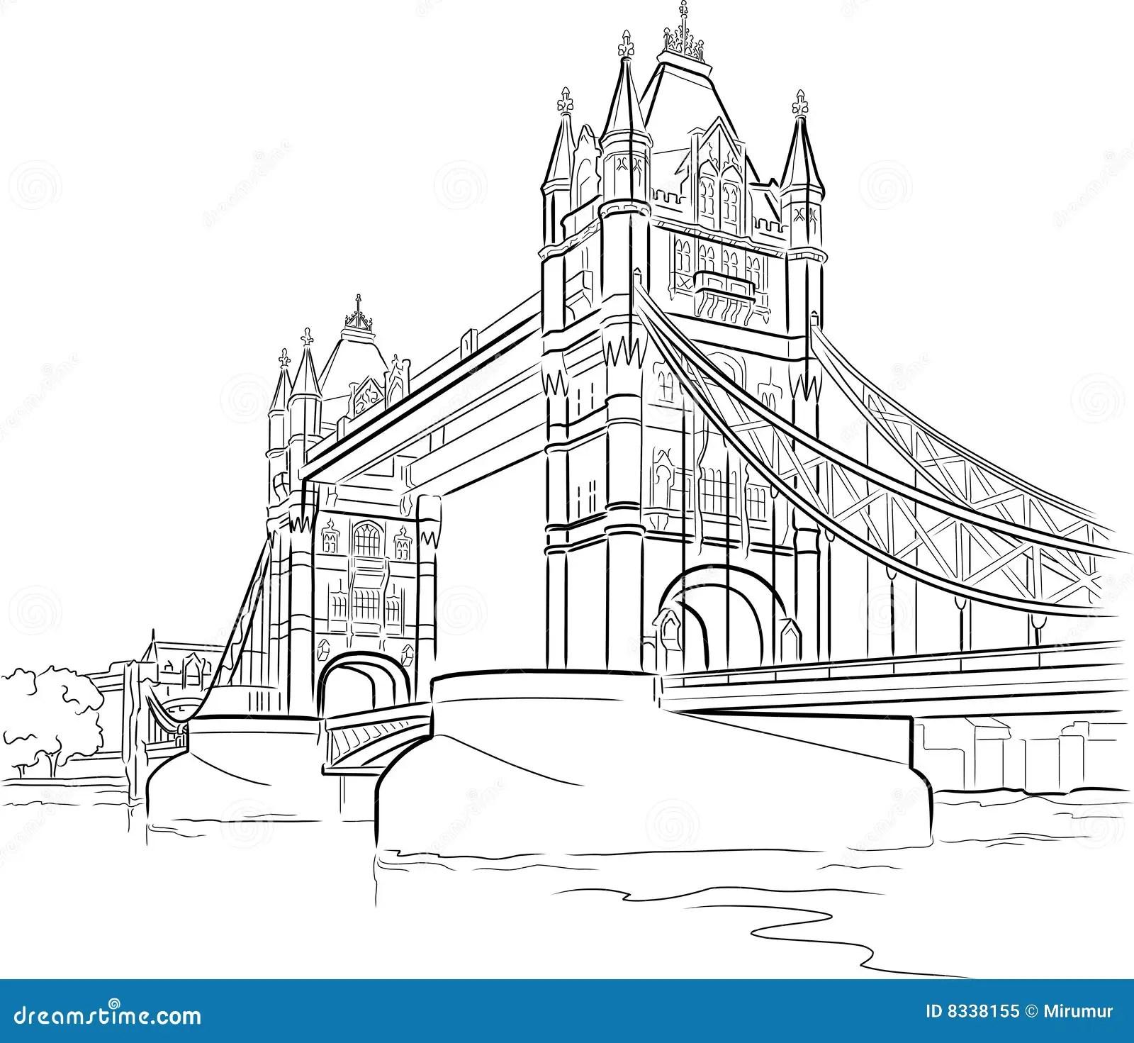 De Brug Van De Toren In Londen Royalty Vrije Stock Foto