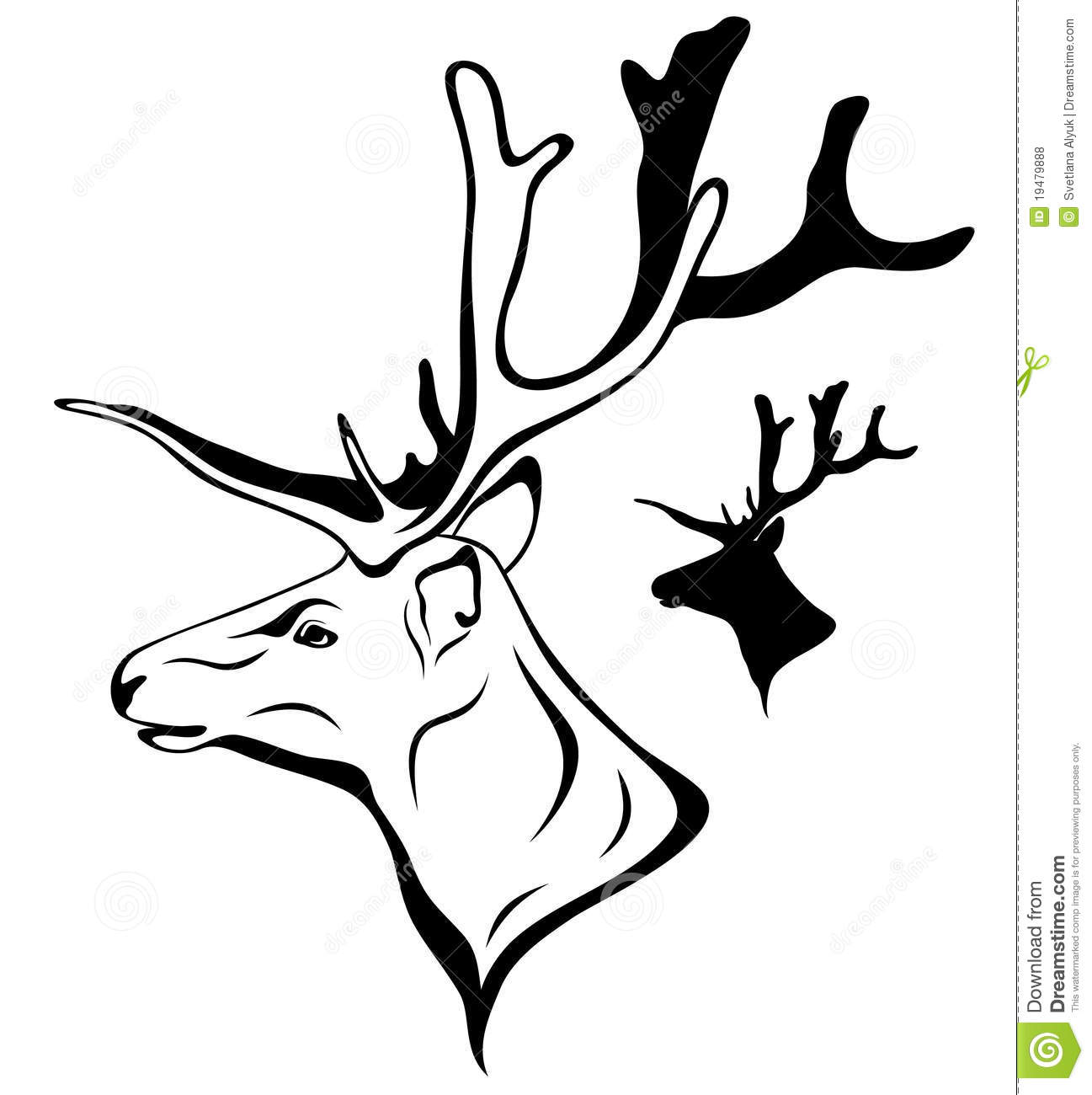 Moose Silhouette By Cake Ideas And Designs