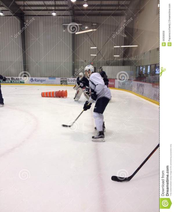 Development Camp Young Players Of Winnipeg Jets Editorial ...