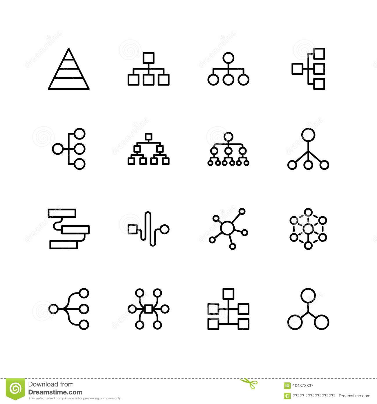 Diagram Flat Icon Stock Vector Illustration Of Curve