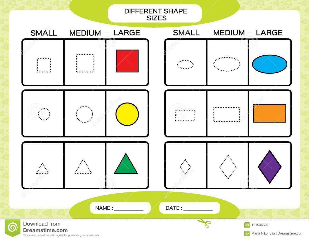 Learning Basic Shapes Stock Illustrations 222 Learning