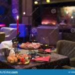 Fancy Restaurant Dinner Stock Image Image Of Elegant 139967545