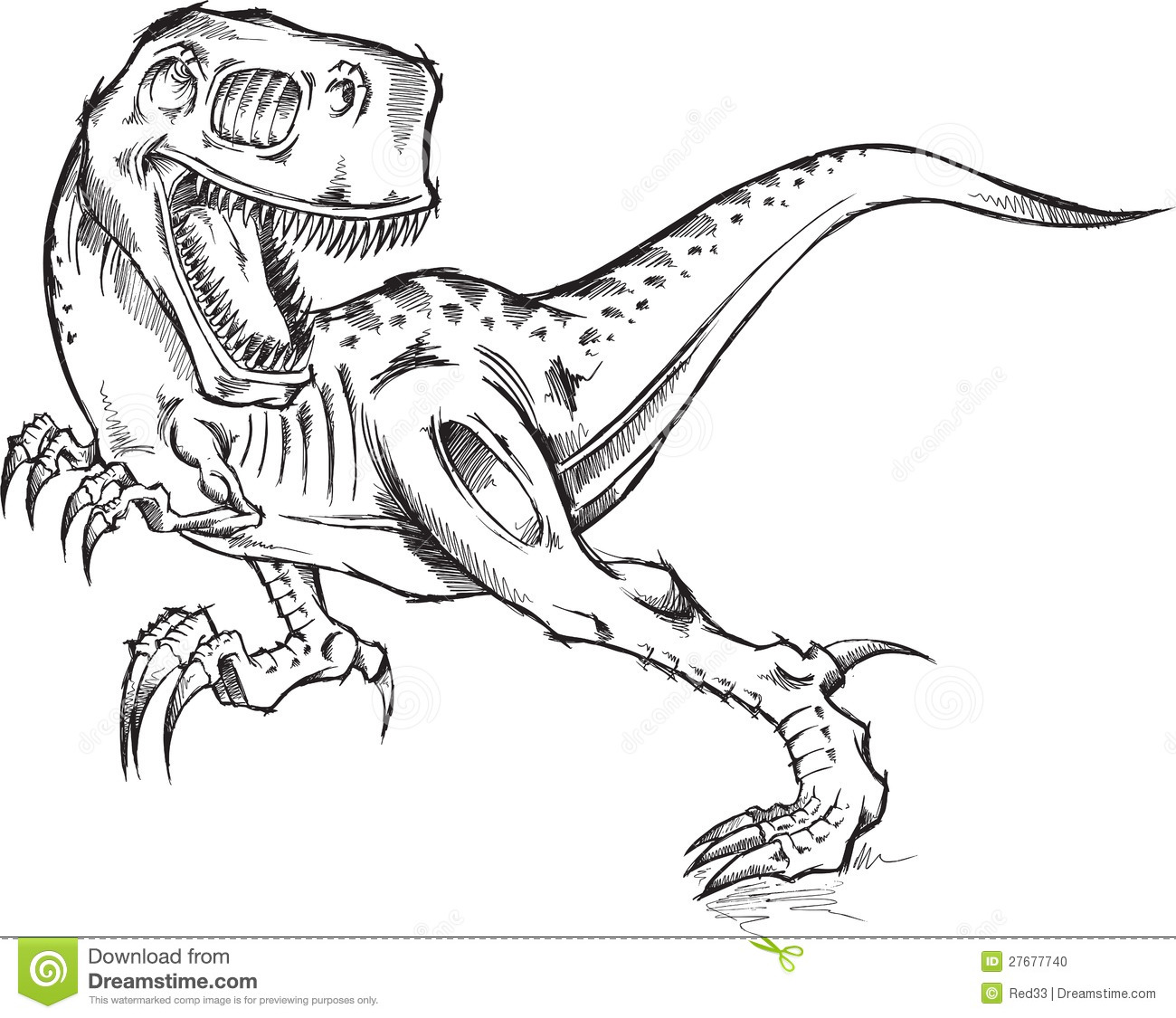 T Rex Da Colorare Coloring Pages
