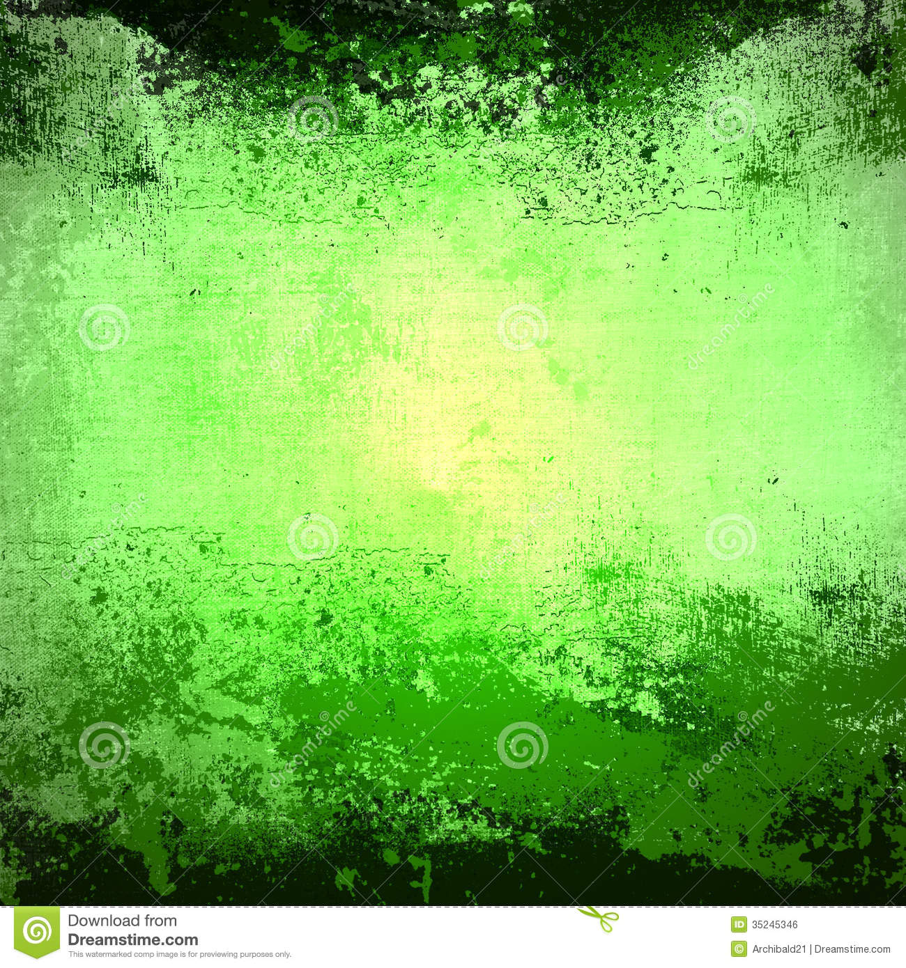 Dirty Green Background Stock Illustration Image Of Dirty