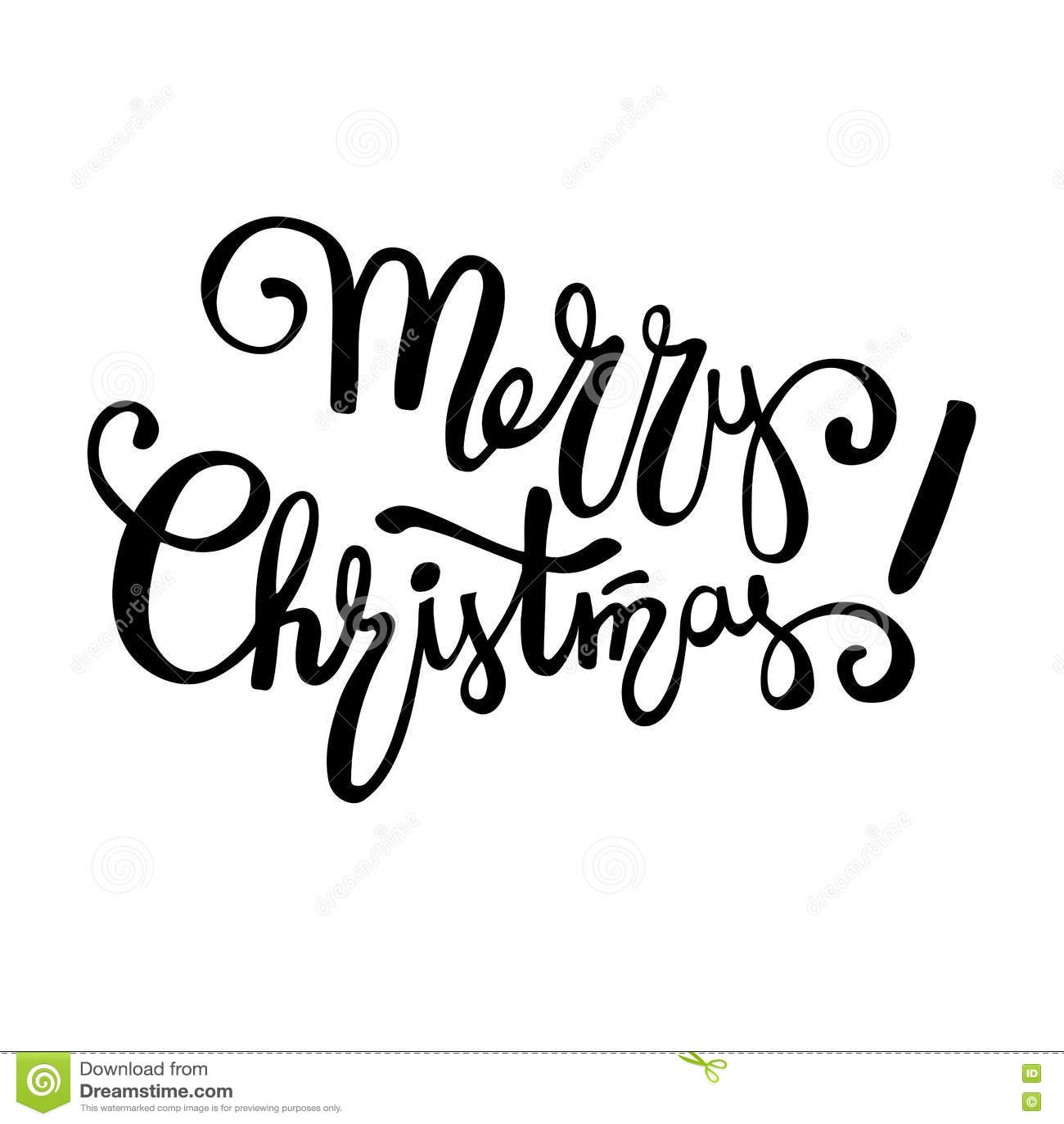Diseno De Letras De La Feliz Navidad Texto De La