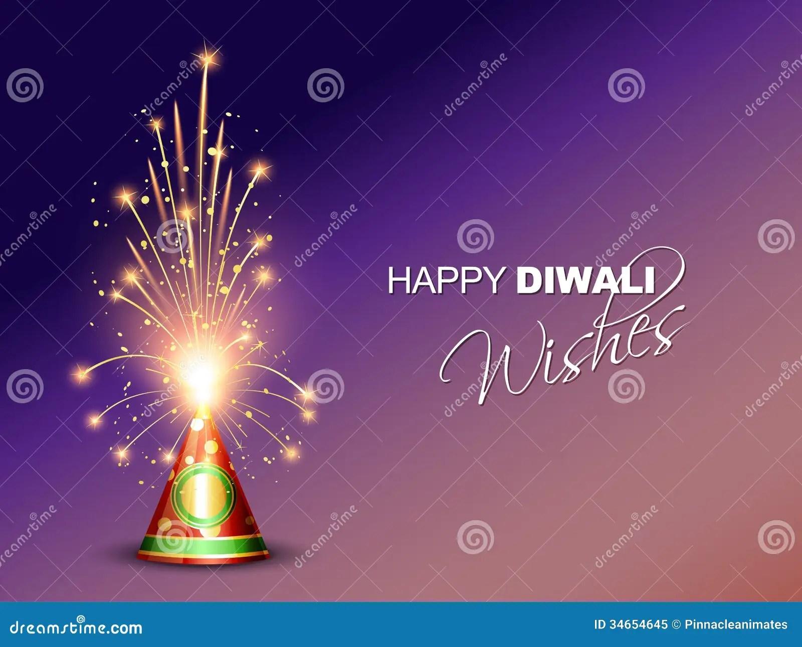 Diwali Crackers Background Royalty Free Stock Photo