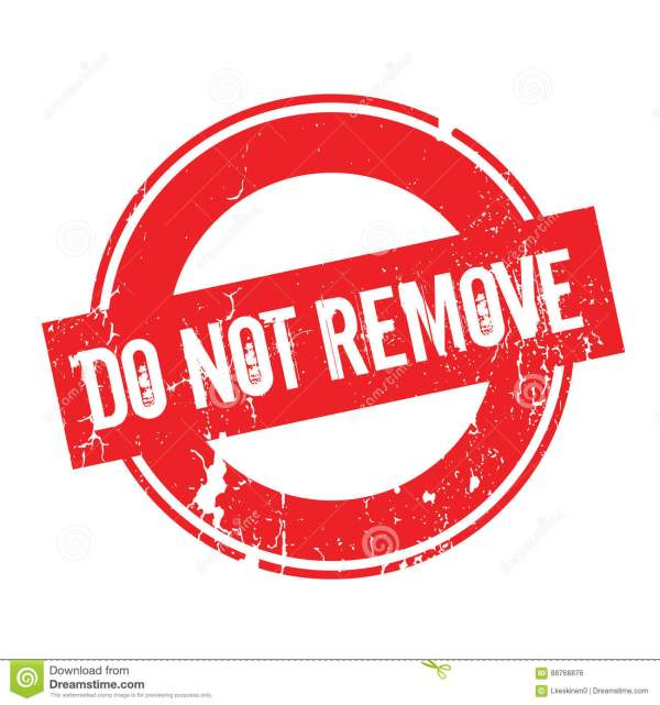 Do Not Remove rubber stamp stock vector. Illustration of ...