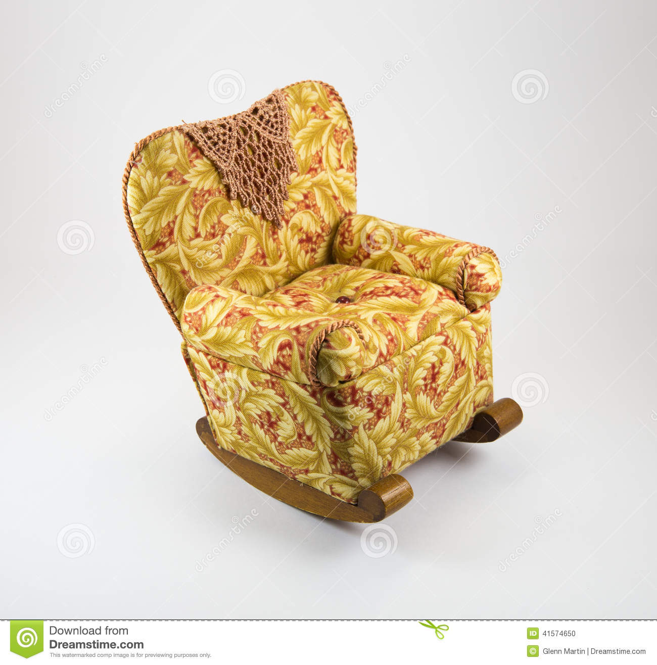 Doll House Rocking Chair Stock Photo Image Of 401k Baby
