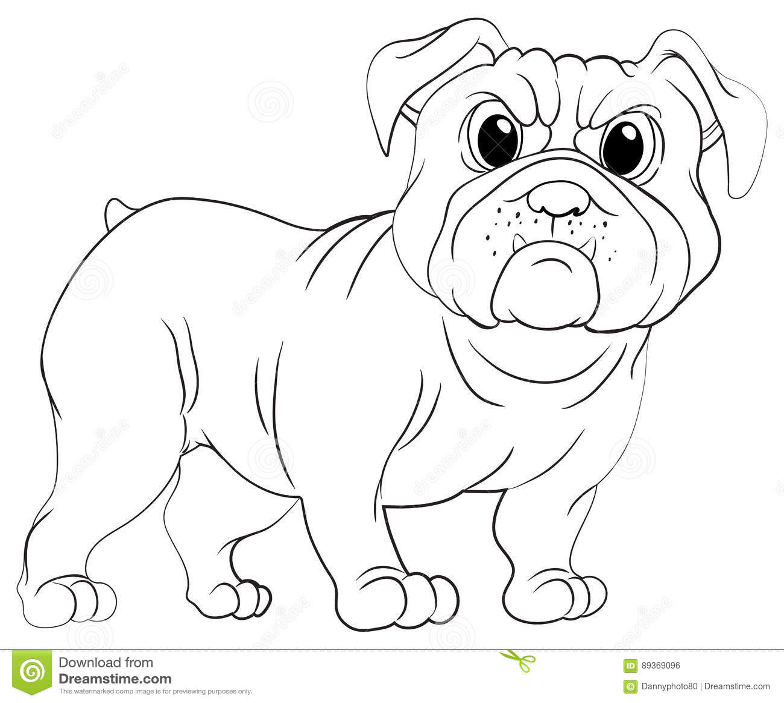 Dog Doodles Cartoon Vector