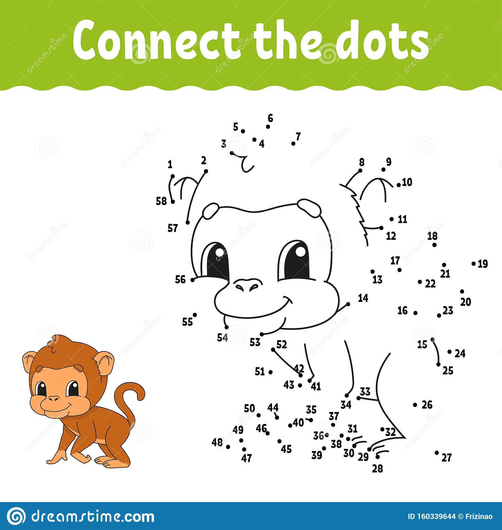 Dot To Dot Draw A Line Handwriting Practice Learning