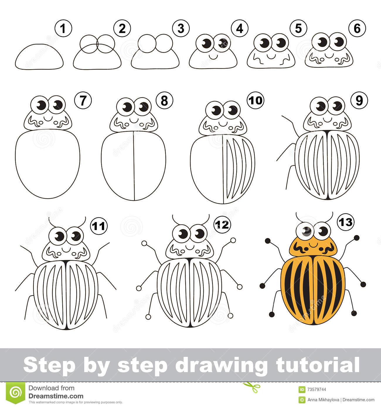 15 Best New Mosquito Drawing Easy For Kids