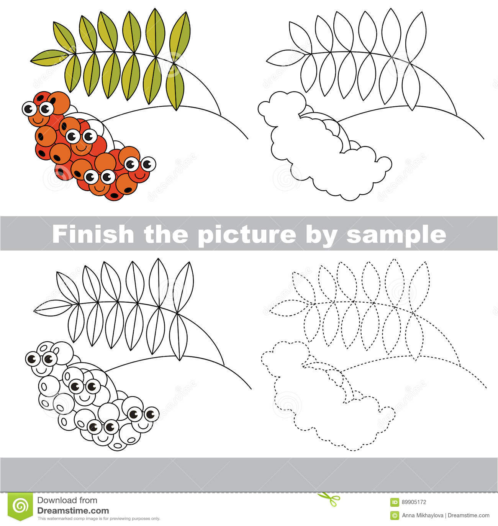 Drawing Worksheet Stock Vector Illustration Of Primitive