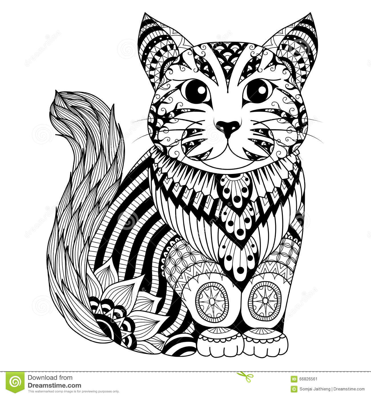 Cheshire Cat Tattoo Design Coloring Pages
